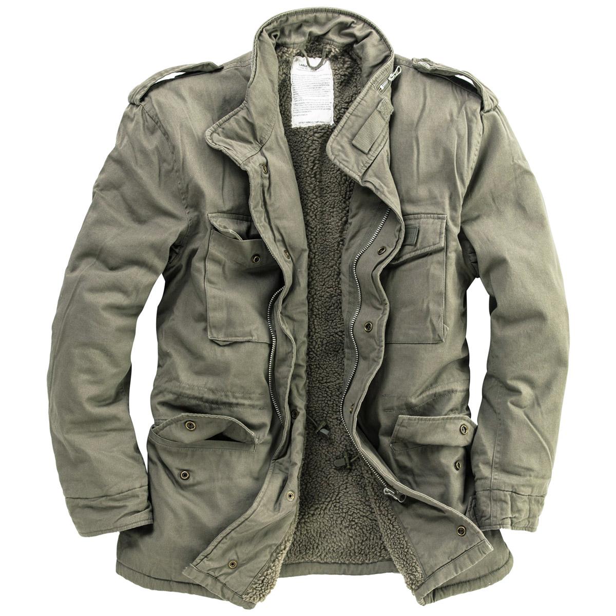 SURPLUS M65 FELDJACKE JACKE PARKA Fieldjacket Winter Jacke US Ranger S-XXL