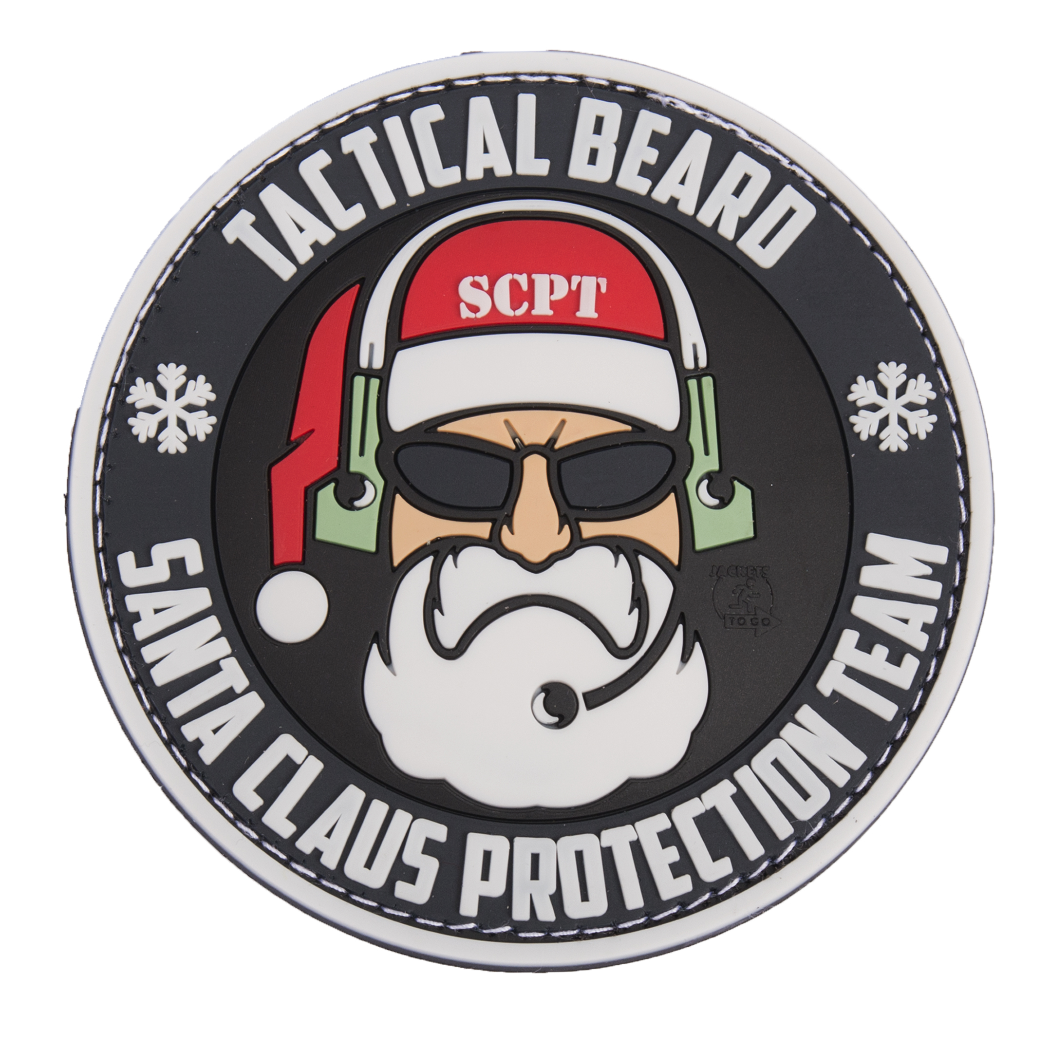 Grey Beard Tactical Patch