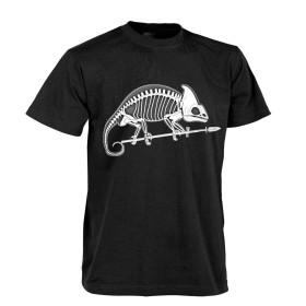 Helikon T-shirt Chameleon Skeleton - Black