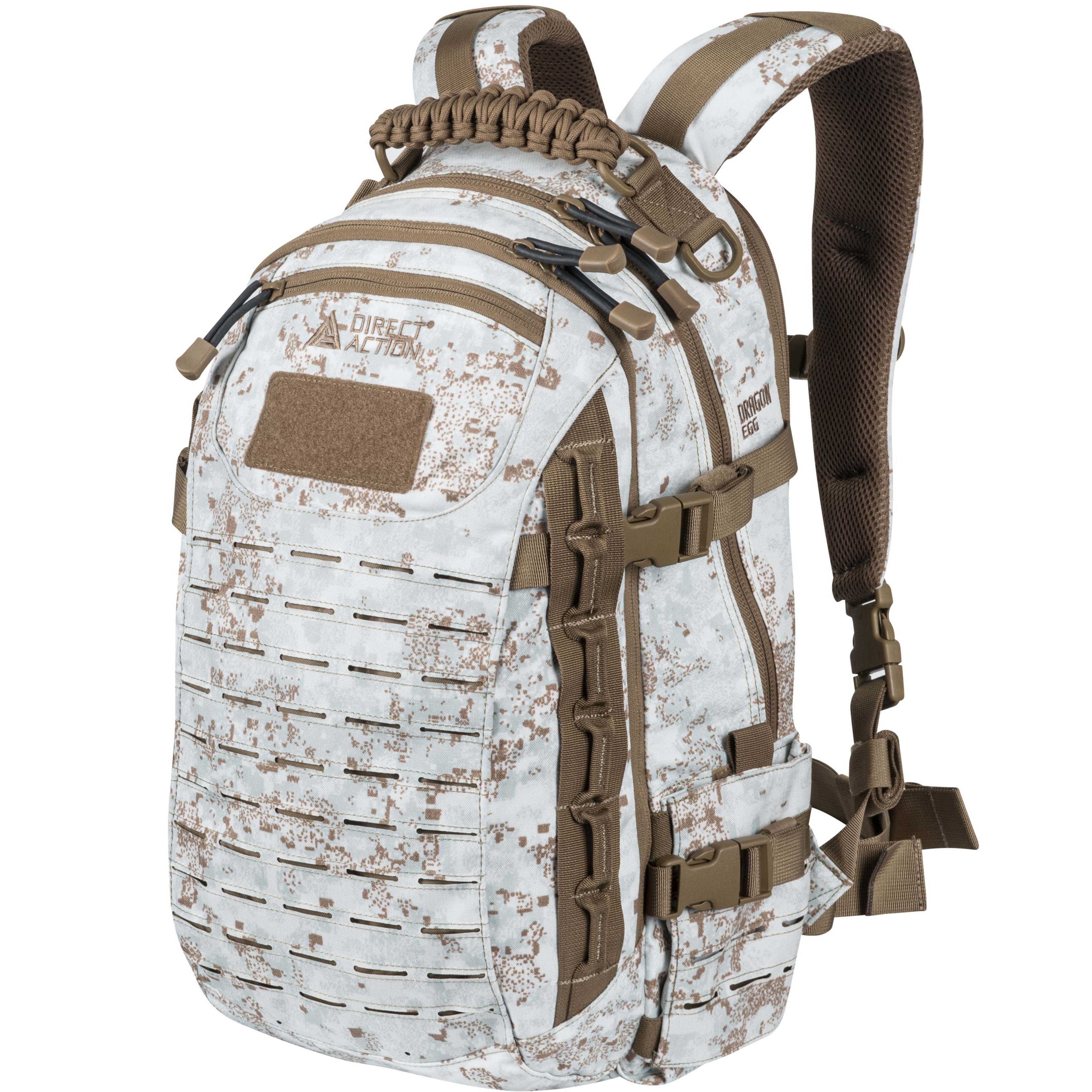 Direct Action Dragon Egg Mk2 Backpack Laptop Padded Rucksack MOLLE PALS Black