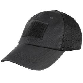 Czapka Condor Mesh Tactical Cap Black (TCM-002)