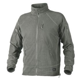 Helikon Alpha Tactical Grid Fleece Jacket - Foliage