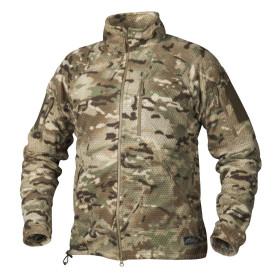 Helikon Alpha Tactical Grid Fleece Jacket - CamoGrom