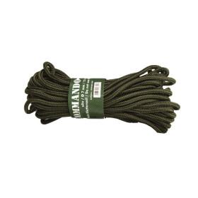 Mil-Tec Commando Rope 7 mm - Olive