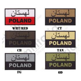 Combat-ID IR/IFF Patch Gen. 1 - Flag Of Poland Paszto D1