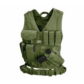 Tactical Vest Condor Crossdraw Olive