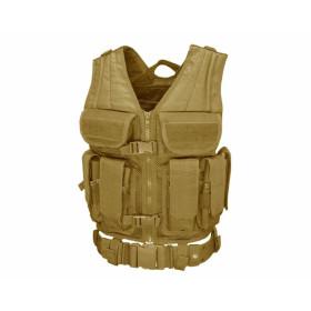 Condor Elite Tactical Vest Coyote/Tan